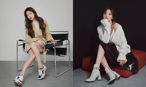 """Song Hye Kyo ngày càng chứng minh """"đẳng cấp thời trang"""", đã mặc là đẹp hơn người mẫu hãng"""