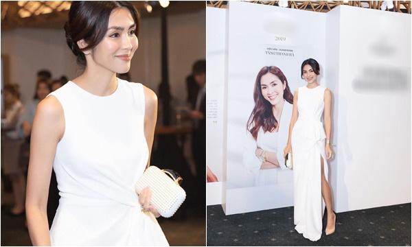 """Diện váy trắng kết hợp mái lơi, Tăng Thanh Hà đã thật sự """"trở lại"""" và lợi hại hơn xưa?"""