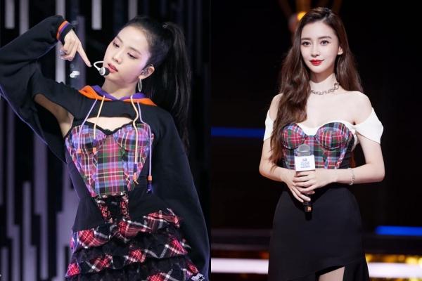 """Jisoo tiếp tục chạm chán Angela Baby khi diện cùng 1 thiết kế, nhưng """"Hoa hậu Hàn"""" lại bị stylist dìm không thương tiếc"""