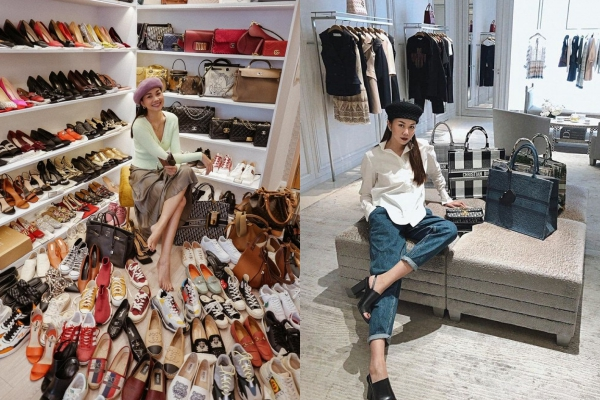 Khoe tủ đồ hàng hiệu, Thanh Hằng khiến CĐM nhầm tưởng là một của hàng lớn ở trung tâm thương mại