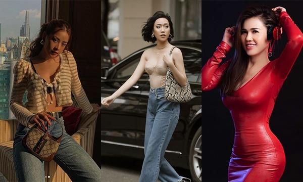 Phải chăng ở cạnh Ngọc Trinh quá lâu, loạt mỹ nhân Việt này học theo luôn gu thời trang gợi cảm, quyến rũ