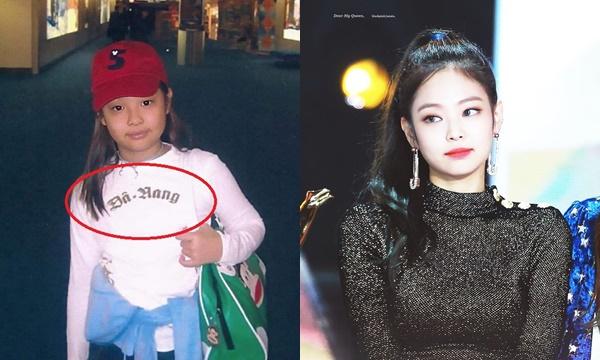 """Gây bão loạt ảnh ngày bé: Jennie ra dáng fashionista đã vậy còn diện áo có chữ hao hao """"Đà Nẵng"""""""