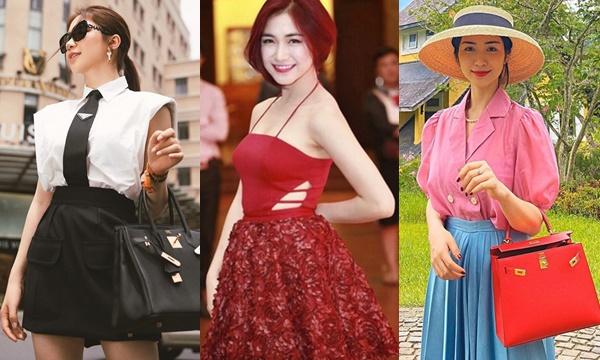 Làm gì có ai mãi là con vịt xấu xí, Hòa Minzy nhan sắc ngày càng thăng hạng, đã vậy còn sở hữu loạt túi hiệu chứ chẳng chơi