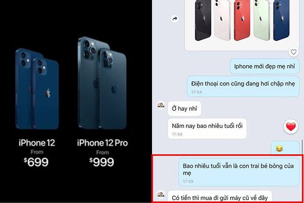 """Troll phụ huynh bằng cách đòi mua iPhone 12, ai ngờ lại nhận được câu trả lời """"lầy lội"""" đến thế!"""