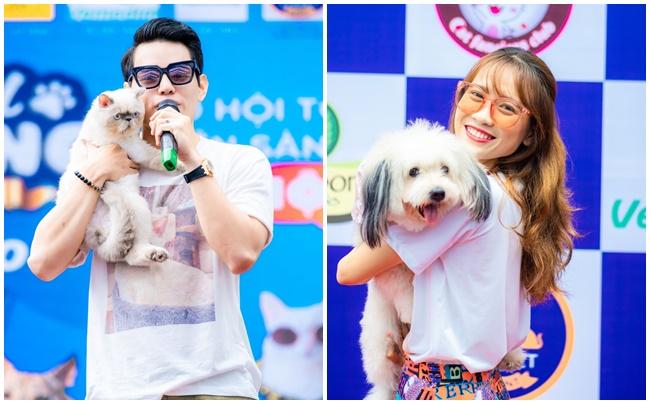 """Ca sĩ Tino lan tỏa tình yêu thương động vật đến cộng đồng tại """"Festival Thú cưng Cần Thơ 2020"""""""