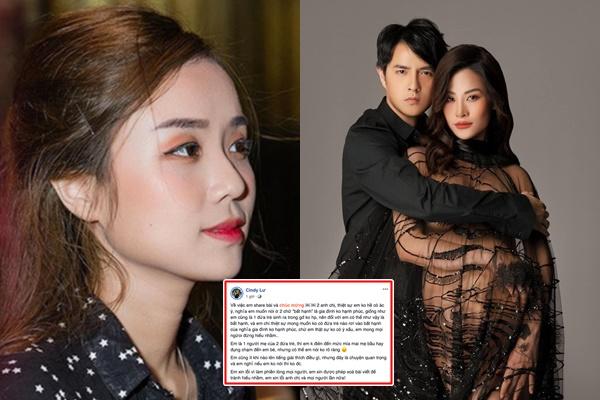 """Vợ cũ Hoài Lâm lên tiếng xin lỗi có lời chúc """"kém duyên"""" dành cho con của Đông Nhi"""