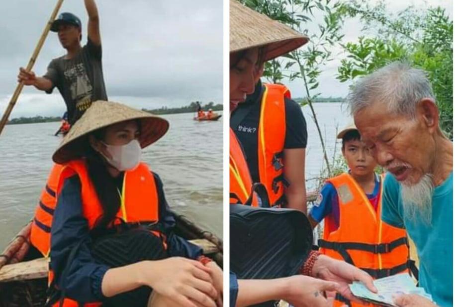 """Thủy Tiên tiết lộ gặp nguy hiểm trên đường đi từ thiện, fans lo sốt vó """"Chị ơi xin bình an"""""""
