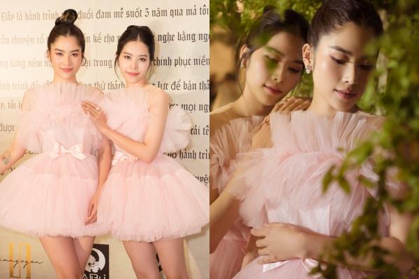 """Hoá thân thành đôi thiên nga trắng, Nam Anh - Nam Em mãi là """"tượng đài"""" nhan sắc của showbiz Việt"""