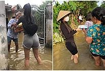 Bị chê mặc quần bó đi làm từ thiện, Thủy Tiên bị ảnh hưởng tâm lý, mặc kín mít từ đầu đến chân