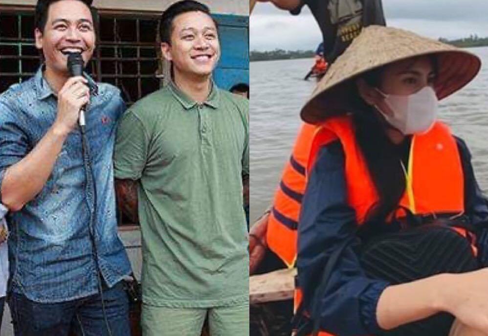 Tuấn Hưng, MC Phan Anh gây tranh cãi khi bị nghi phản đối cách làm từ thiện của Thủy Tiên quá nguy hiểm