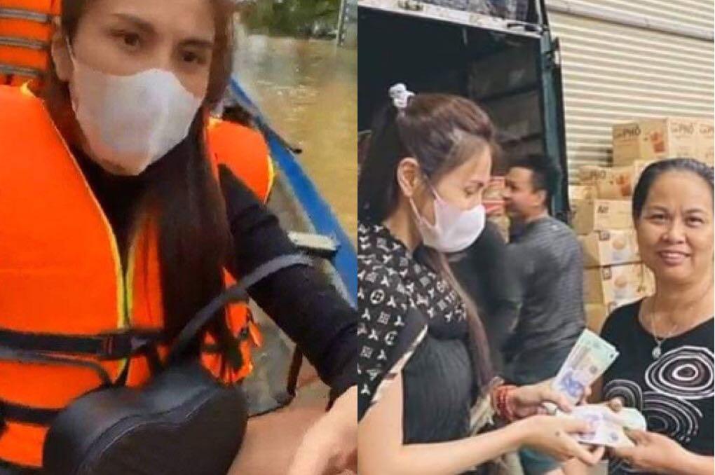 """Thủy Tiên lên tiếng về những người dân """"có điều kiện"""" vẫn xin đồ từ thiện"""