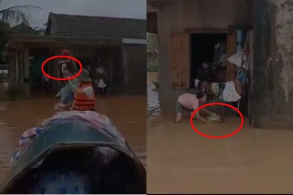 Tranh cãi trước hành động ném đồ xuống nước khi đi từ thiện của nhóm Youtuber: Của cho không bằng cách cho