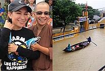 Đi từ thiện trót cười tươi khi chụp ảnh, Phi Nhung bị chỉ trích vô lý