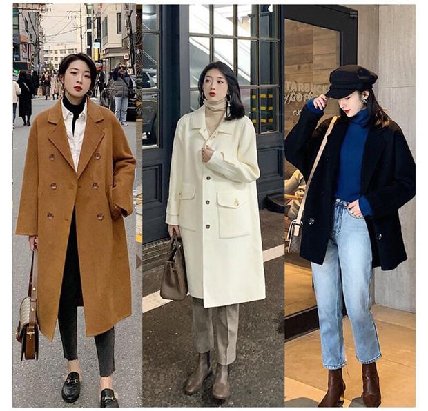 Trời trở lạnh chỉ cần 1 chiếc trend coat dáng dài là các nàng đã đủ sang chảnh ngút ngàn