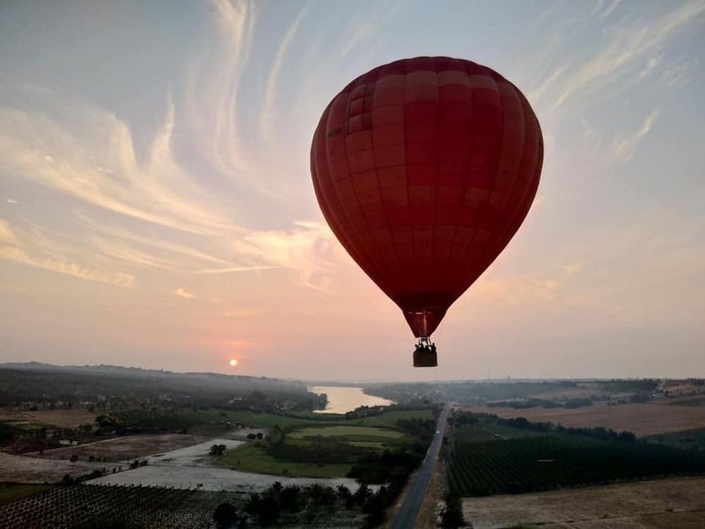 """Thử một lần """"bay khinh khí cầu"""" ngắm toàn cảnh thành phố biển Vũng Tàu sắp ra mắt"""