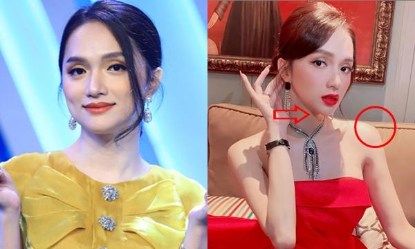 """Up hình sống ảo """"đỏ rực"""", Hương Giang lại bị lộ chi tiết bất thường"""