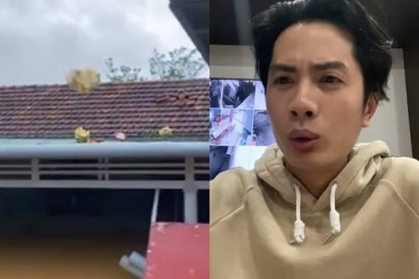 """Huỳnh Phương (FapTV) đáp trả khi bị chỉ trích ném đồ cứu trợ đồng bào: """"Quăng đồ hơi phản cảm, nhưng đó là cần thiết"""""""