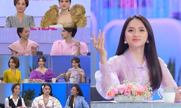 """Tranh cãi trang phục của Hương Giang: Nổi bật hay """"quá lố"""" chiếm hết sóng chị em?"""