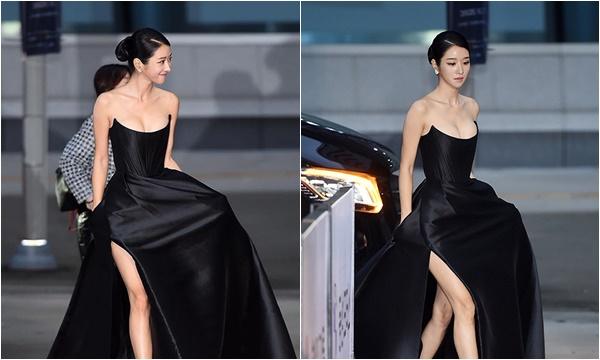 """Khoác bộ cánh """"nửa tỷ"""" lên thảm đỏ, điên nữ Seo Ye Ji khiến dân tình phát điên"""