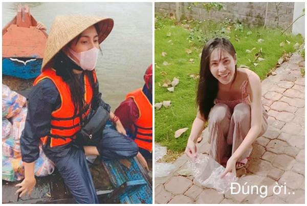 """Câu chuyện đẹp về Thủy Tiên: Hết cứu dân mùa lũ, """"cô Tiên"""" cứu luôn đàn kiến đi trú mưa"""