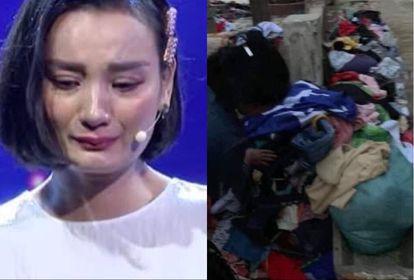 Siêu mẫu Lê Thúy bật khóc minh oan cho bà con miền Trung chuyện vứt quần áo từ thiện