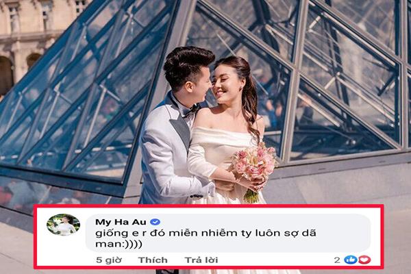 """Sau 1 thời gian """"lặn tăm"""" khỏi mạng xã hội, Âu Hà My bất ngờ lên tiếng chia sẻ về tình yêu, hôn nhân"""