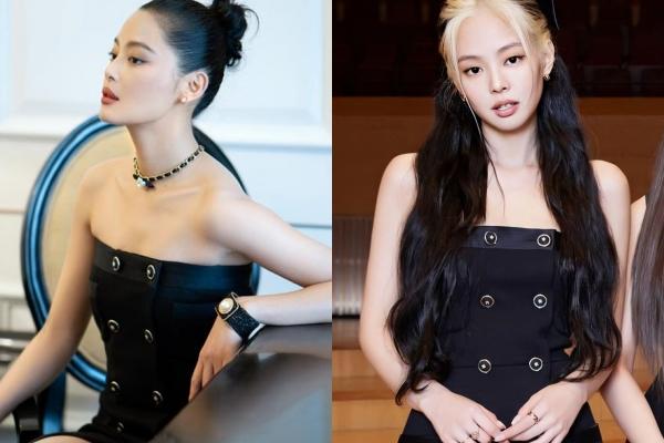 """Đụng hàng đầm Chanel, Jennie bị """"Gia Quý Phi"""" của Như Ý Truyện """"chặt đẹp"""" vì kết hợp với phụ kiện này"""