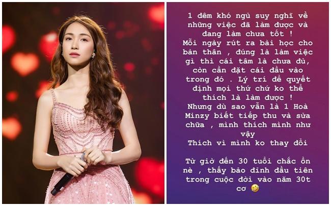 Hòa Minzy lại viết tâm thư xin lỗi, hứa sẽ thay đổi khi bị góp ý việc liên quan đến từ thiện