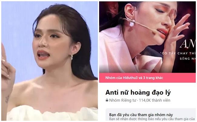 """Hương Giang dọa kiện nhóm anti-fans bôi nhọ mình: """"Tôi không nói đạo lý, cơ mặt sinh ra không thân thiện"""""""