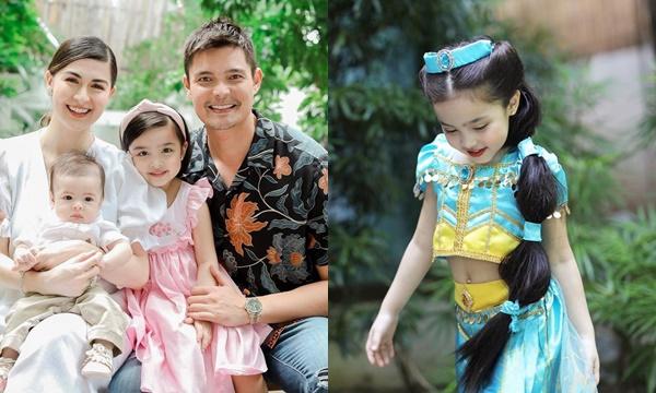 """Không hổ danh con gái """"mỹ nhân đẹp nhất Philippines"""", bé gái 4 tuổi hóa trang Halloween visual trên cả cực phẩm"""