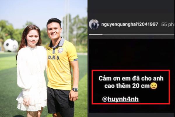 """Dòng story """"cà khịa"""" Huỳnh Anh của Quang Hải: Hóa ra chỉ là cú lừa từ photoshop"""