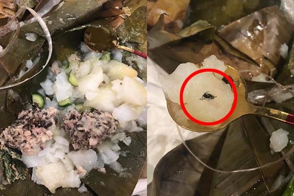 """Cô gái có trải nghiệm tồi tệ tại quán bánh giò nổi tiếng một thời ở Hà Nội: Đồ ăn bốc mùi, """"bonus"""" thêm nhân ruồi"""