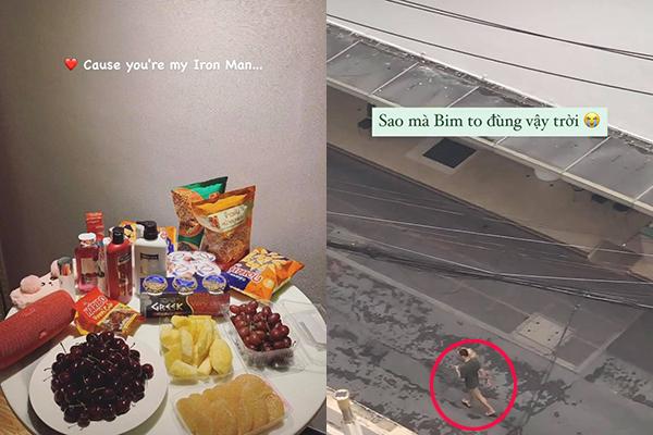 """Lâm Tây - """"bạn trai nhà người ta"""" ngày ngày dắt chó cưng mang đồ ăn tiếp tế cho Yến Xuân tại nơi cách ly"""