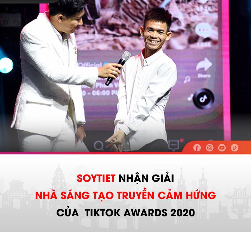 Chàng trai chăn bò Soytiet được TikTok Việt Nam vinh danh sau những bài hát gây bão MXH toàn cầu
