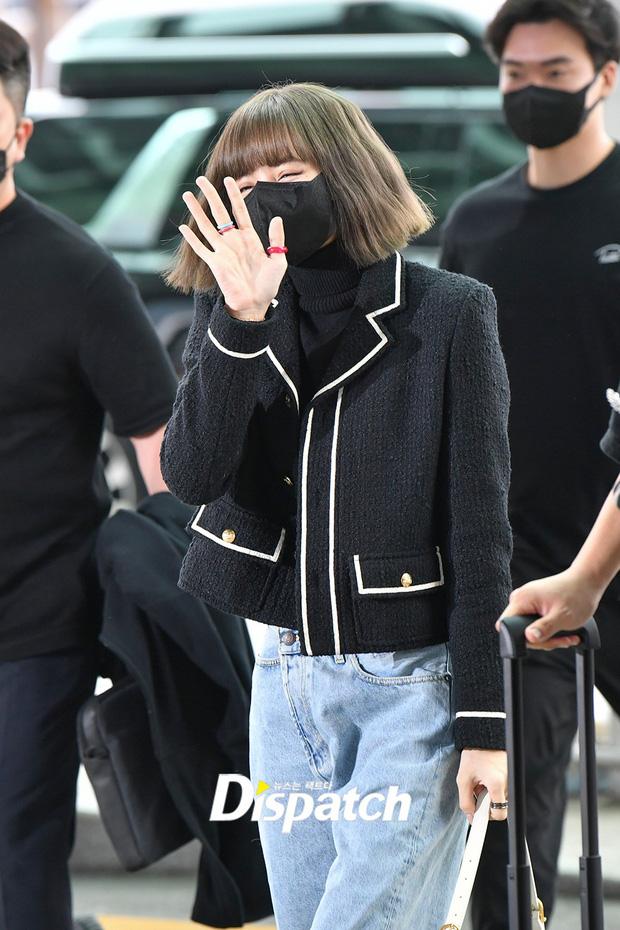 Lisa đã đến Pháp nhưng không thể tham dự sự kiện Tuần lễ thời trang Paris